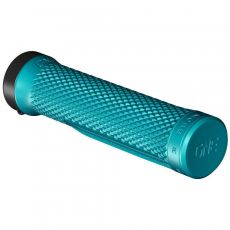 OneUp Components Lock-On Grips Turquoise