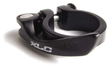 XLC seat clamp 31.8 musta pikalinkulla