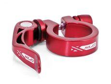 XLC seat clamp 34.9 punainen pikalinkulla