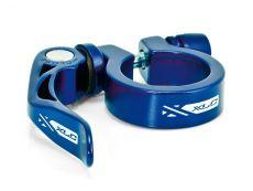 XLC seat clamp 34.9 sininen pikalinkulla