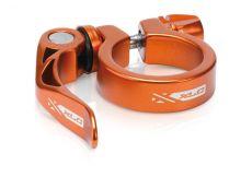 XLC seat clamp 34.9 oranssi pikalinkulla