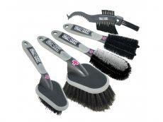 Muc-Off 5x Brush Set