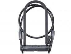 Bontrager Elite Keyed U-Lock with 4' Cable