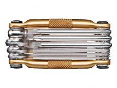 Crankbrothers M10 Monitoimityökalu Gold